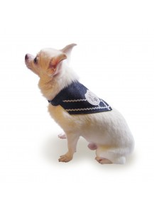 "Dog Denim Bandana ""Knights Templar Bandana"""