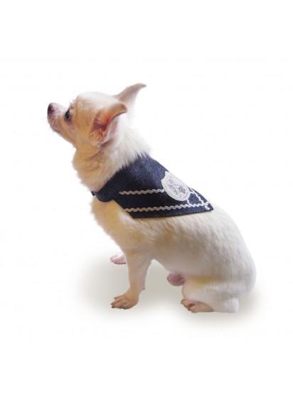 "Dog Denim Bandana ""Knights Templar Bandana"""