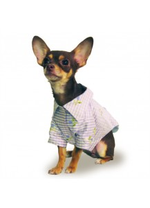 "Dog Silk Jacket ""Clara""     =one of a kind style="