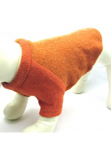 "Raglan Pullover Dog Sweater ""Apricot"""