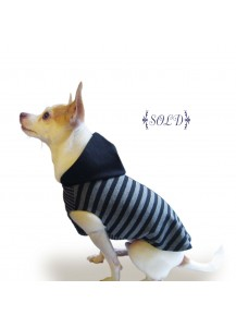 "Knit Dog Hoody ""City Stripe Vol. 1"""