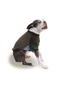"Dog Sweater ""Dublin""    =one of a kind style="
