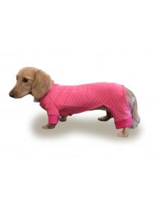 "Quilted Knit Dog Warmer ""Hug Me Tender"""